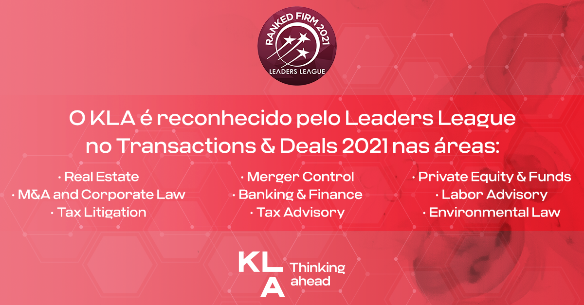 KLA is highlighted in the Transaction & Deals 2021 by Leaders League