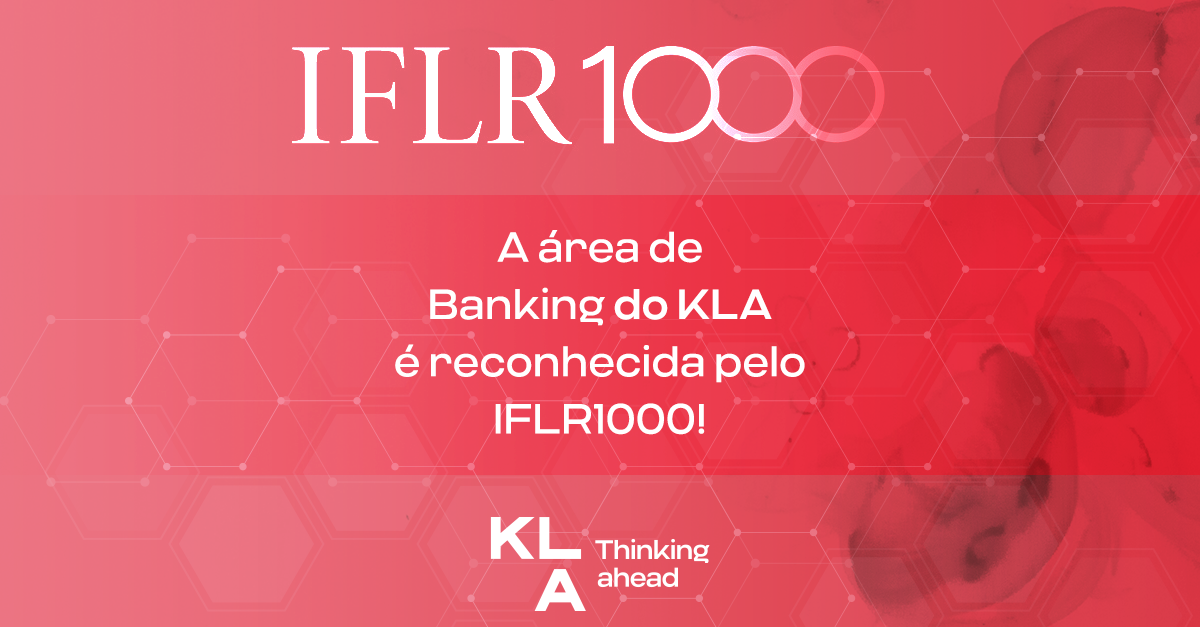 Banking area is recognized by IFLR1000